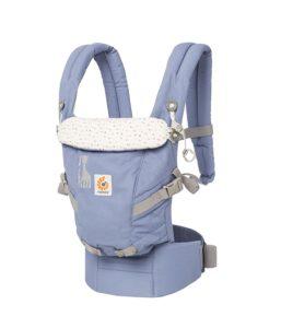 ERGObaby BCAPEASLG Adapt 3 Positionen Komfort Babytrage - PLATZ 5