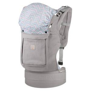 GAGAKU Ergonomische Baumwoll Babytrage Rücken mit Abnehmbarer Kapuze - platz 2