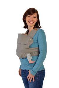 Marsupi Baby und Kindertrage I kompakte Bauch und Hüfttrage - PLATZ 3