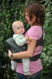 Babytrage Neugeborene: Marsupi Baby und Kindertrage I kompakte Bauch und Hüfttrage - platz 1